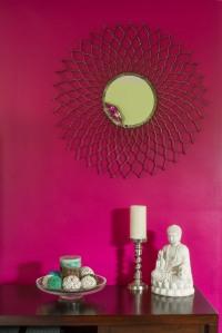 Jewel Toned Living Room